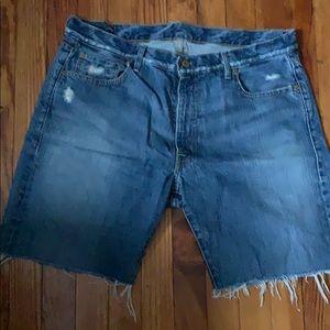 Ralph Lauren Jean shorts Mens size 36